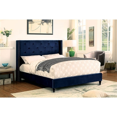 Anabelle Bed by Furniture of America - FOA-CM7677NV-B