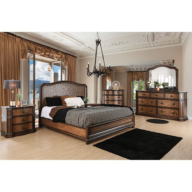 6 Piece Bedroom Set by Furniture of America - FOA-CM7831