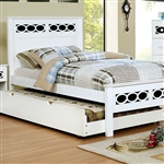 Cammi 6 Piece Bedroom Set by Furniture of America - FOA-CM7853BL