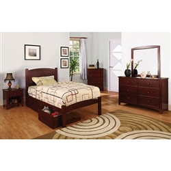 Cara 6 Piece Bedroom Set by Furniture of America - FOA-CM7903CH