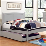 Cara Twin Bed by Furniture of America - FOA-CM7903GY-B