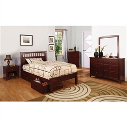 Carus 6 Piece Bedroom Set by Furniture of America - FOA-CM7904CH