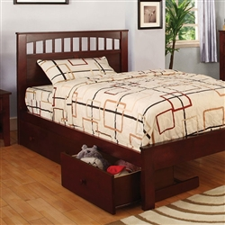 Carus Bed by Furniture of America - FOA-CM7904CH-B