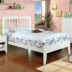 Pine Brook Twin Bed by Furniture of America - FOA-CM7908WH-B