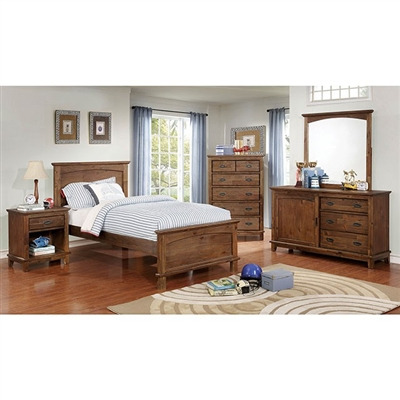 Colin 4 Piece Youth Bedroom Set by Furniture of America - FOA-CM7909A