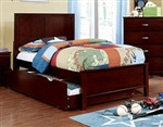 Prismo Twin Bed by Furniture of America - FOA-CM7941CH-B