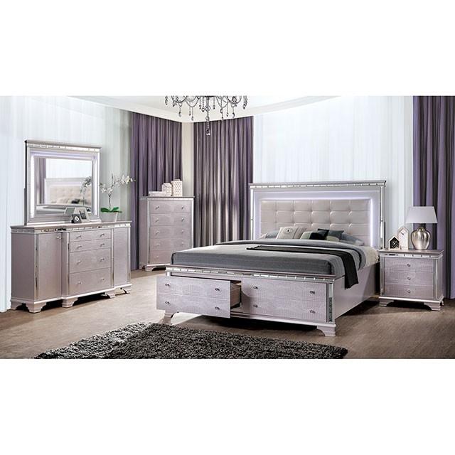 Claudette 6 Piece Bedroom Set by Furniture of America - FOA-CM7972