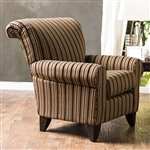 Arklow Chair in Tan by Furniture of America - FOA-SM1241-CH