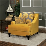 Viscontti Chair in Gold by Furniture of America - FOA-SM2201-CH