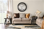 Camilla Love Seat in Tan by Furniture of America - FOA-SM2681-LV