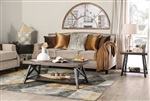 Camilla Sofa in Tan by Furniture of America - FOA-SM2681-SF