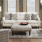Parker Love Seat in Ivory by Furniture of America - FOA-SM8563-LV