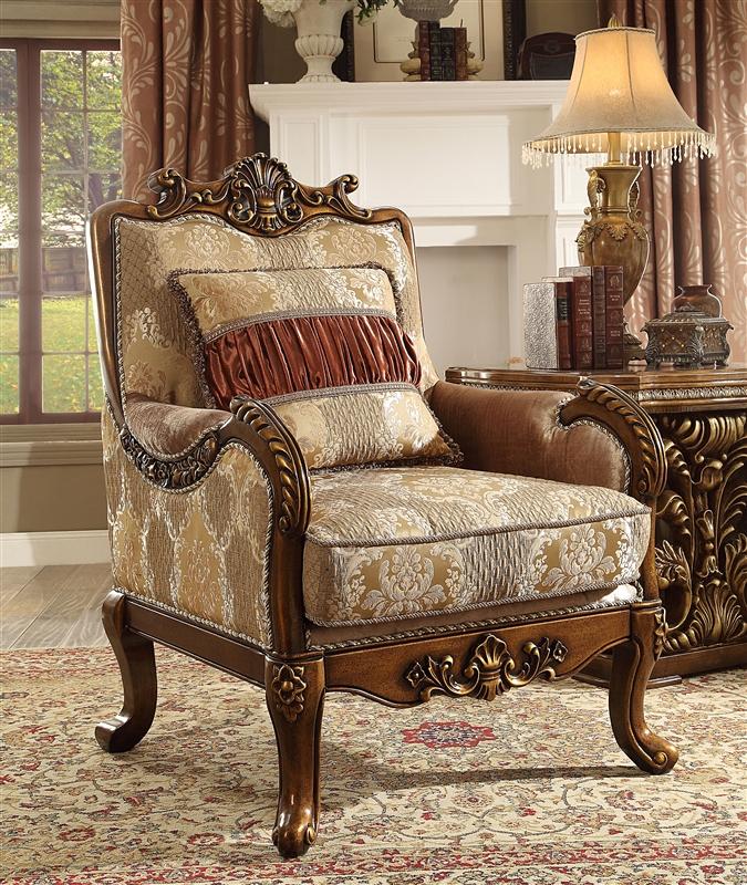 World Of Furniture: Lavish Old World 2 Piece Living Room Set By Homey Design