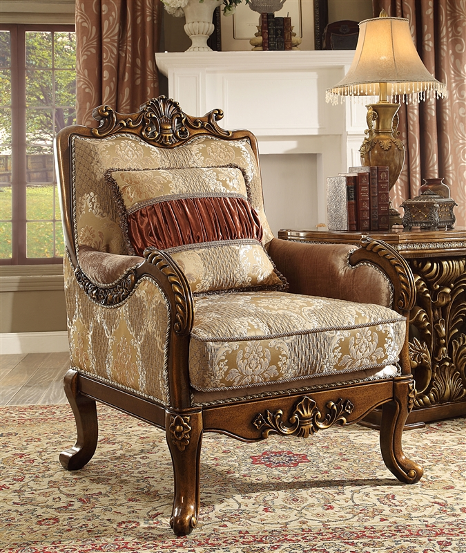 Lavish Old World Chair By Homey Design   HD 1601 C