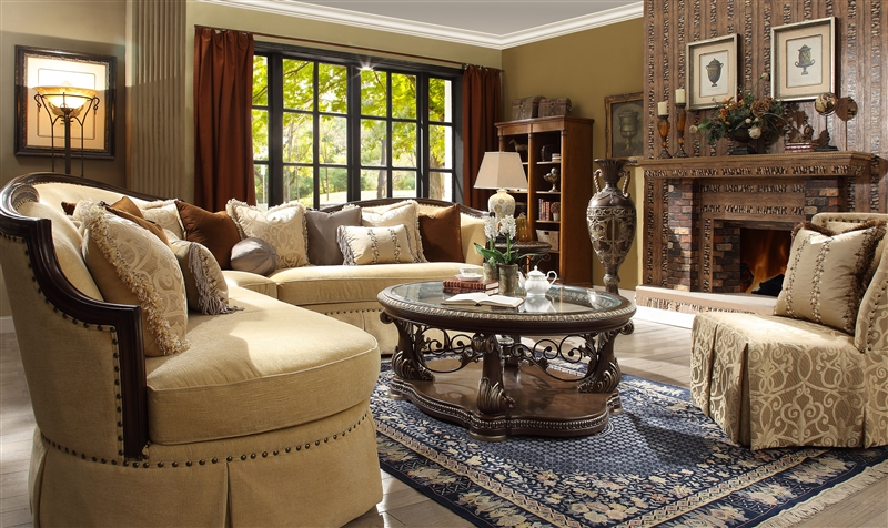 upholstery living room sectional soft set by homey design hd 1621 - Homey Design Upholstered