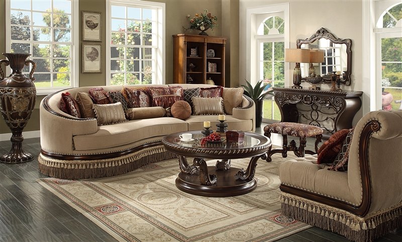 Classic 5-Seat Sectional Sofa Set by Homey Design - HD-1629