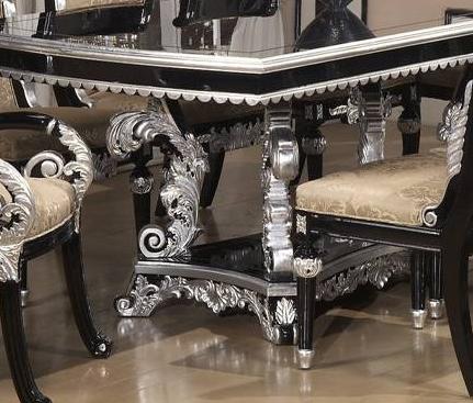 Castilla Trestle Table 7 Piece Dining Set by Homey Design HD-196