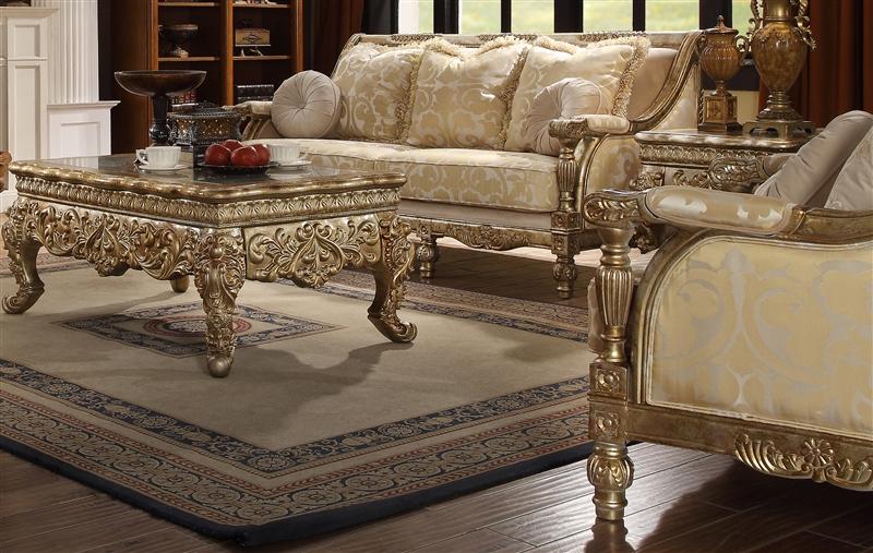 Living Room Sets With Wood Trim victorian wood trim 2 piece living room sethomey design - hd-205