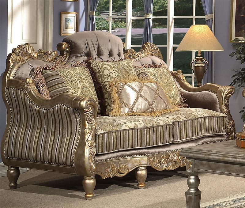 . Sanary 2 Piece Living Room Set by Homey Design HD 287