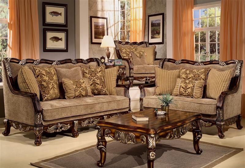 Coria 2 Piece Living Room Set by Homey Design HD-4825