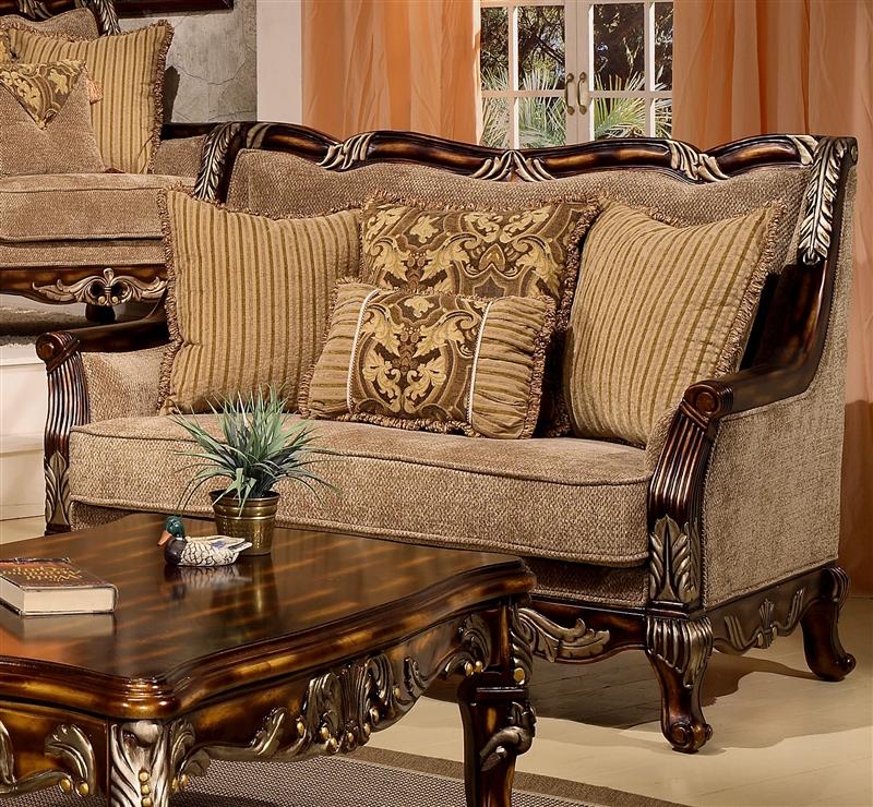 Coria 2 Piece Living Room Set By Homey Design Hd 4825