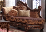Chenille Fabrics Chaise by Homey Design - HD-66-CH