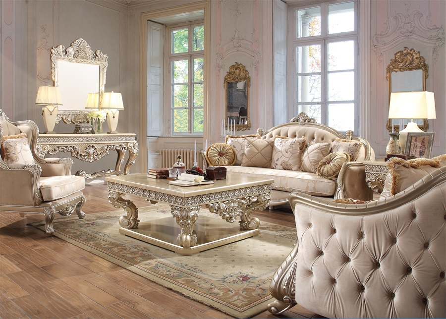 Elegant Tufted Decorative Trim, Tufted Living Room Furniture