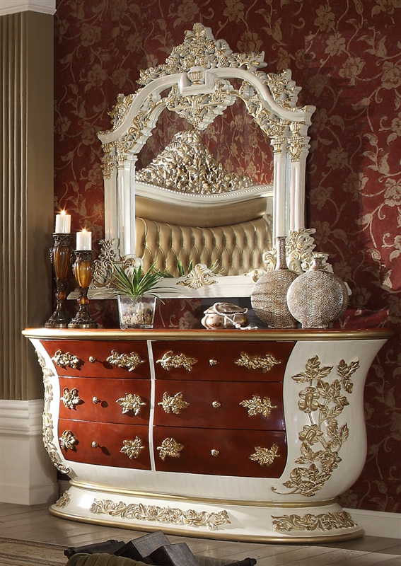Palazzo 6 Piece Bedroom Set By Homey Design Hd 8019
