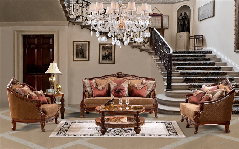 Murcia 2 Piece Living Room Set by Homey Design HD-904