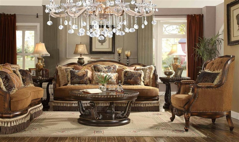 traditional upholstered loveseat by homey design hd 9344 l - Homey Design Upholstered