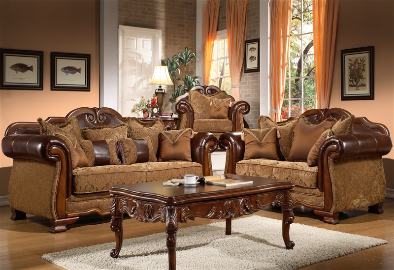 Living Room Set By Homey Design Hd 974