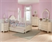 Cinderella 4 Piece Youth Bedroom Set in Ecru by Home Elegance - HEL-1386TPP-1-4
