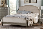 Albright Queen Bed in Oak by Home Elegance - HEL-1717-1