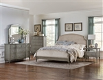 Albright 6 Piece Bedroom Set in Oak by Home Elegance - HEL-1717-1-4