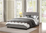 Chasin Queen Bed in Neutral Gray by Home Elegance - HEL-1896N-1