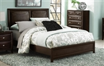 Summerlin Queen Bed in Espresso by Home Elegance - HEL-1908-1