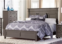 Granbury Queen Bed in Grey by Home Elegance - HEL-1911-1