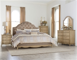 Ashden 6 Piece Bedroom Set in Driftwood by Home Elegance - HEL-1918-1-4