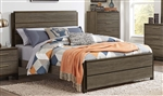 Vestavia Queen Bed in Dark Brown by Home Elegance - HEL-1936-1