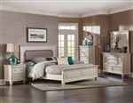 Odeon 6 Piece Bedroom Set in Champagne by Home Elegance - HEL-1937-1-4