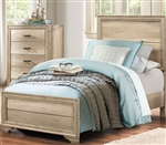 Lonan Twin Bed in Rustic by Home Elegance - HEL-1955T-1