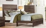 Erwan Queen Bed in Rich Espresso by Home Elegance - HEL-1961-1