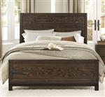 Branton Queen Bed in Brown by Home Elegance - HEL-1968-1