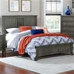 Garcia Twin Bed in Grey by Home Elegance - HEL-2046T-1