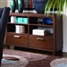 Beaumont Server in Brown Cherry by Home Elegance - HEL-2111-40