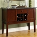 Decatur Server in Espresso by Home Elegance - HEL-2456-40