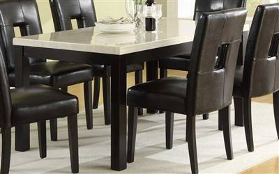 Archstone 5 Piece Dining Set in Black by Home Elegance - HEL-3270-60-5S1W