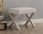 Recife Ottoman in Beige by Home Elegance - HEL-4690-F2