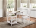 Daily 2 Piece Home Office Set in White by Home Elegance - HEL-4694WT-15