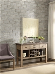 Anna Claire Server in Driftwood by Home Elegance - HEL-5428-40